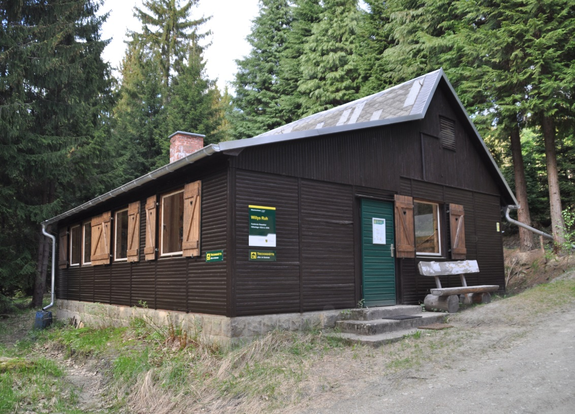 Picture of the hut